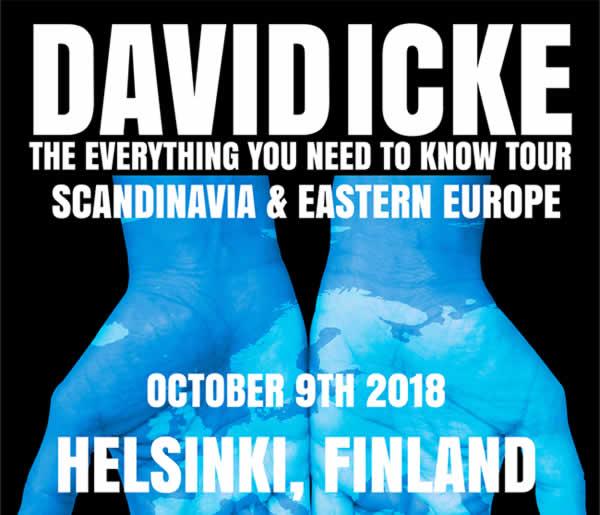 david icke luennoi suomessa